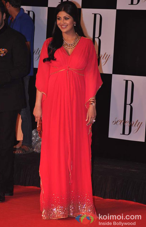 Shilpa Shetty At Amitabh Bachchan's 70th Birthday Bash