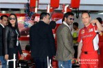 Sonakshi Sinha And Ajay Devgn Promoting Son Of Sardaar Movie At Formula One Indian Grand Prix Pic 2