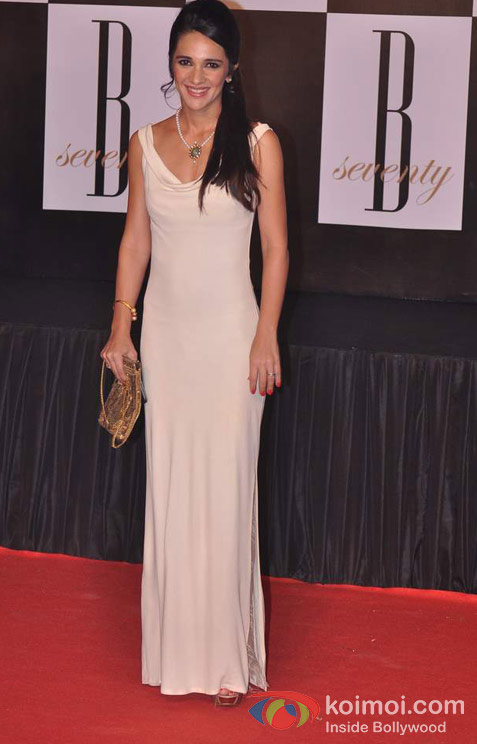 Tara Sharma At Amitabh Bachchan's 70th Birthday Bash