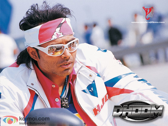 Uday Chopra from Dhoom Movie