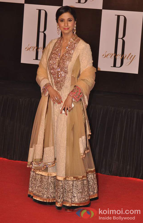 Urmila Matondkar At Amitabh Bachchan's 70th Birthday Bash