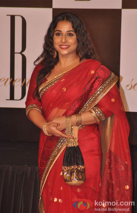 Vidya Balan At Amitabh Bachchan's 70th Birthday Bash