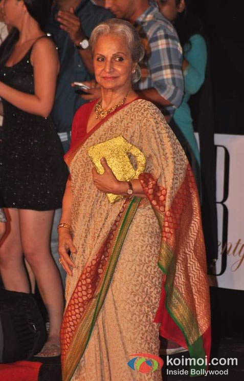 Waheeda Rehman At Amitabh Bachchan's 70th Birthday Bash