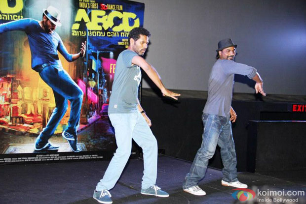 Prabhu Deva And Remo D'Souza at ABCD - Any Body Can Dance Trailer Launch