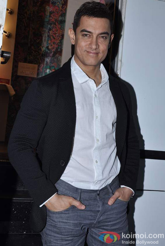 Aamir Khan at a Promotional Event