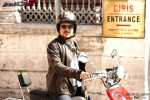 Anil Kapoor on bike in Race 2 Movie Stills