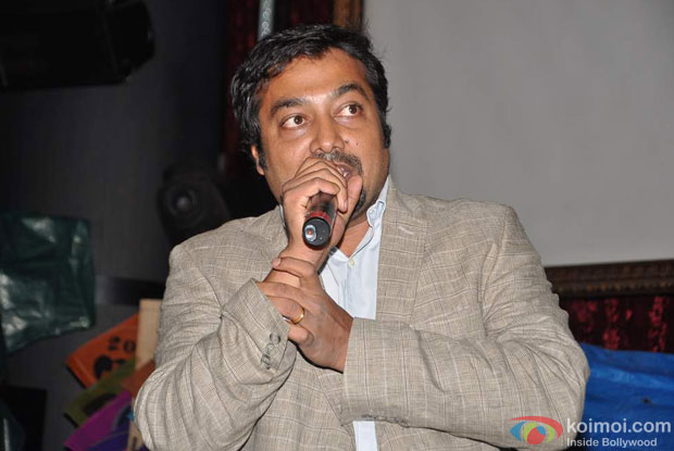 Anurag Kashyap at the Press Meet of 'Ugly'