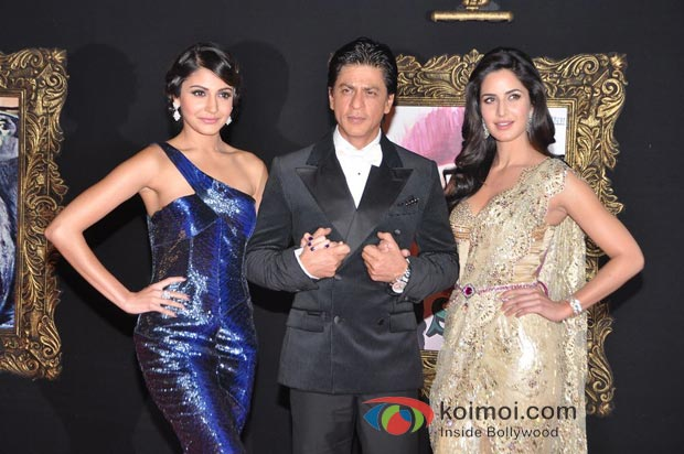 Anushka Sharma, Shah Rukh Khan And Katrina Kaif Attend The Grand Premiere Of Jab Tak Hai Jaan