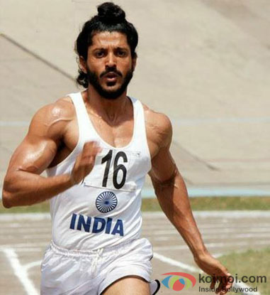 Farhan Akhtar from Bhaag Milkha Bhaag Movie Stills
