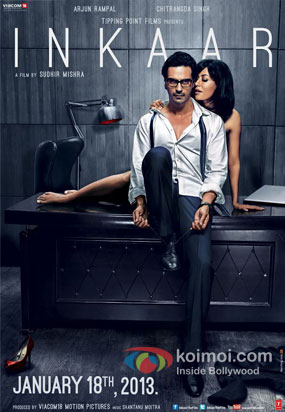 Chitrangada Singh and Arjun Rampal from Inkaar Movie Poster