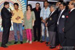 Cyrus Broacha, Sachin Tendulkar, Anjali Tendulkar, Mahendra Singh Dhoni At The Cricket Club Of India celebrates 75 years