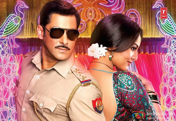 Salman Khan and Sonakshi Sinha from Dabangg 2 Movie
