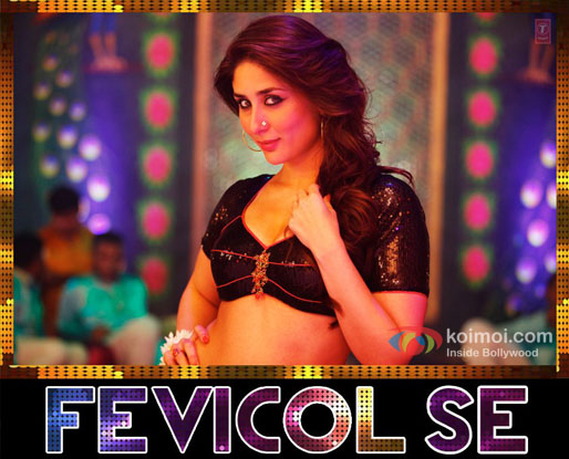 Kareena Kapoor in a still from Fevicol Se song Dabangg 2