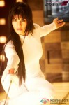 Jacqueline Fernandez Learns Fencing in Race 2 Movie Stills
