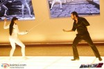 Jacqueline Fernandez and Saif Ali Khan perform fencing sequence in Race 2 Movie Stills