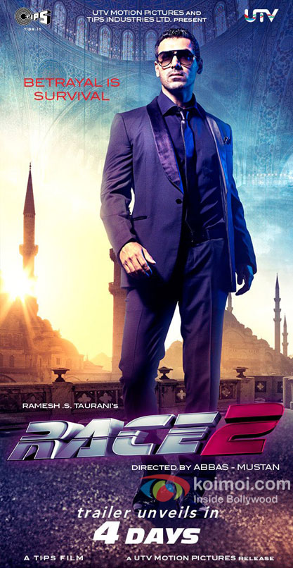 John Abraham In Race 2 Movie First Look Poster