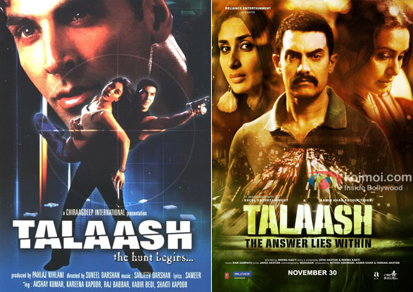 Talaash: The Hunt Begins... & Talaash: The Answer Lies Within Movie Poster