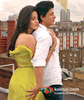 Katrina Kaif And Shah Rukh Khan Jab Tak hai Jaan Movie Stills