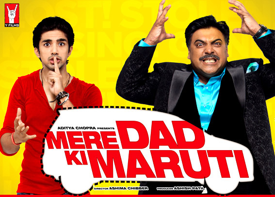 Ram Kapoor and Saqib Saleem from Mere Dad Ki Maruti Movie