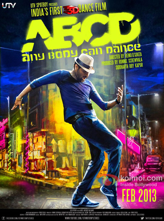 Prabhu Deva in ABCD - Any Body Can Dance Movie First Look Poster