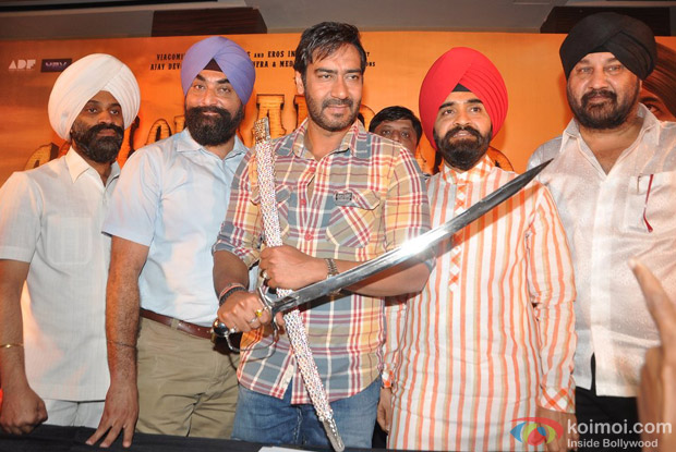 Press Conference of PCHB & Ajay Devgn after Special Screening of SOS for PCHB