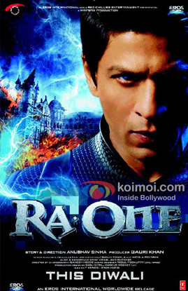 Ra.One Movie Poster