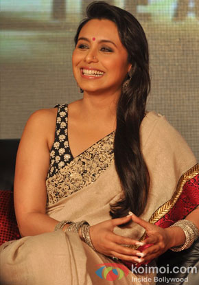 Rani Mukerji at an event