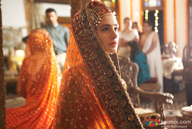 Nargis Fakhri in a still from Rockstar Movie