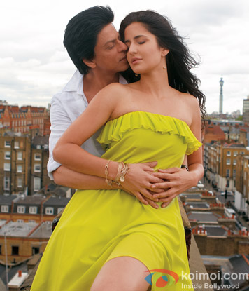 Shah Rukh Khan and Katrina Kaif in a still from Jab Tak Hai Jaan Movie