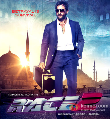 Saif Ali Khan From Race 2 Movie