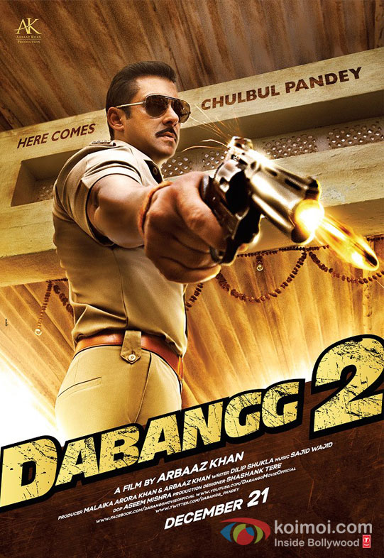 Salman Khan Dabangg 2 Movie Poster