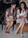 Shruti Ulfat And Mouni Roy At Success Bash of Life Ok Channel's Show 'Junoon Aisi Nafrat'
