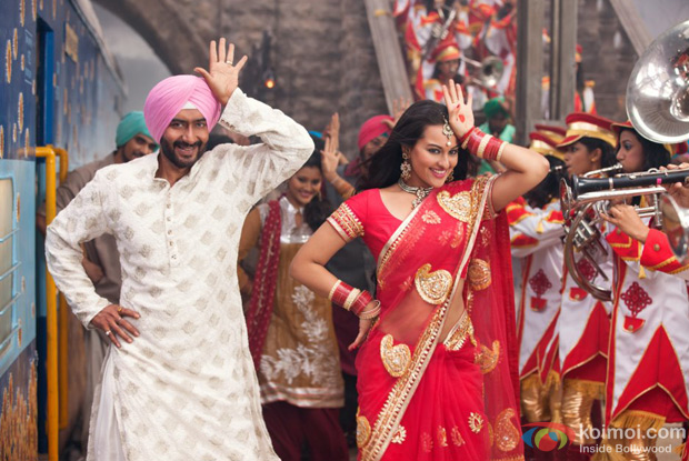 Son Of Sardaar Review (Son Of Sardaar Movie Stills)
