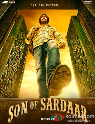 Son Of Sardaar Review (Son Of Sardaar Movie Poster)