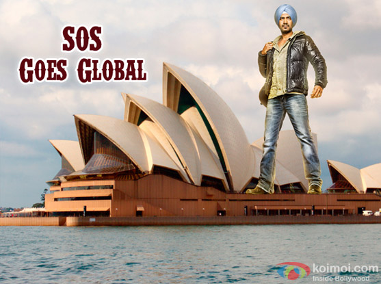 Ajay Devgn in Son Of Sardaar's Innovative Poster