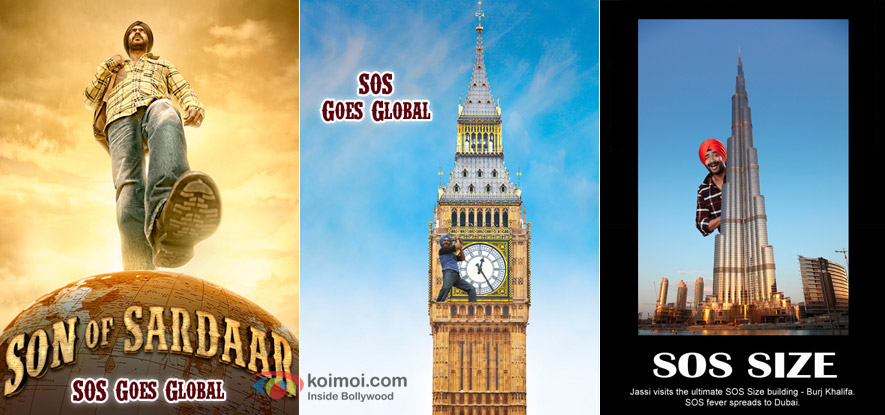 Ajay Devgn in Son Of Sardaar's Innovative Posters