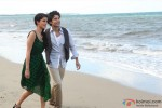 A romantic beach walk for Rajeev Khandelwal and Tena Desae in Table No. 21 Movie Stills