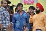 Ajay Devgn Flags Off Vintage Car Rally Pic 1