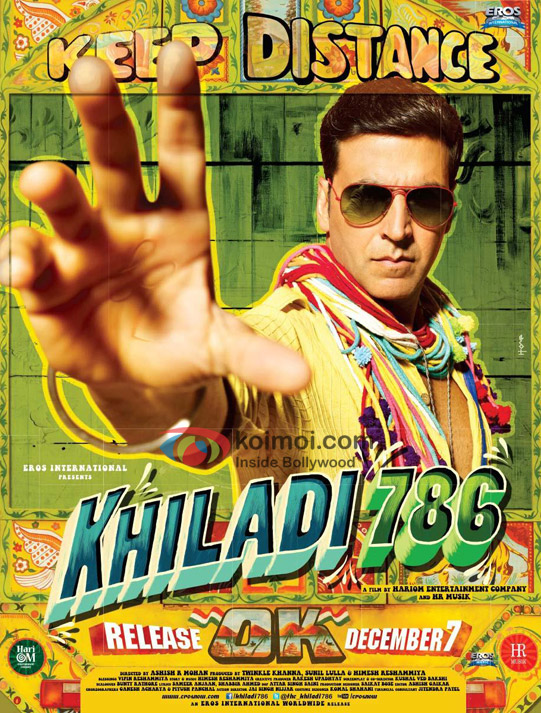Akshay Kumar In Khiladi 786 Movie First Look Poster