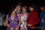 Bollywood actress Sambhavna Seth with Kanwaljeet, Bobby Darling and Rohit Verma at her birthday party celebration in Mumbai