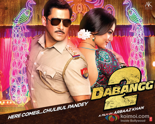 Dabangg 2 Movie Poster Wallpaper