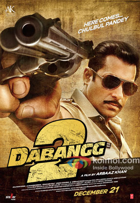 Dabangg 2 Review (Dabangg 2 Movie Poster)