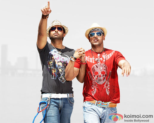 Abhishek Bachchan and John Abraham for Dostana 2 Movie