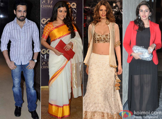 Emraan Hashmi, Konkona Sen Sharma, Kalki Koechlin and Huma Qureshi for Ek Thi Daayan Movie