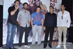Hrithik Roshan, Sohail Khan, Abhishek Kapoor And Arjun Rampal at Film 'Kai Po Che' Trailer Launch