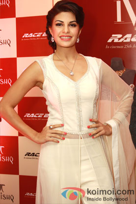 Jacqueline Fernandez at Race 2 Promotional Event
