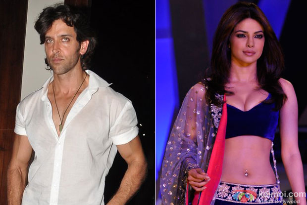 Hrithik Roshan and Priyanka Chopra for Krrish 3 Movie