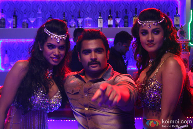 Sachiin J Joshi in a still from Mumbai Mirror Movie