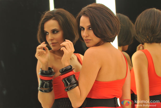 Neha Dhupia in a still from Rush