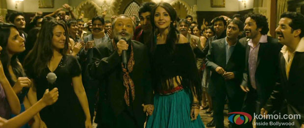 Pankaj Kapur and Anushka Sharma in Oye Boy Charlie Song in Matru Ki Bijlee Ka Mandola Movie Stills
